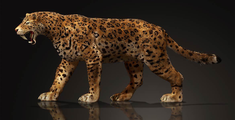Prehistoryczne monstra - Megantereon