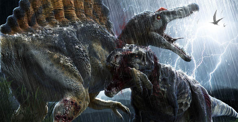 Starcie tytanów - Tyranozaur kontra Spinozaur