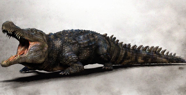 Największe krokodyle ery kenozoicznej