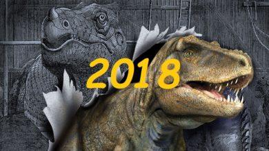 Photo of Dinozaury z roku 2018