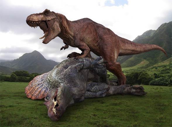 Spinozaur vs T.rex