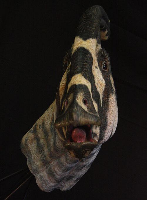 Parazaurolof (Parasaurolophus) - wizualizacja.