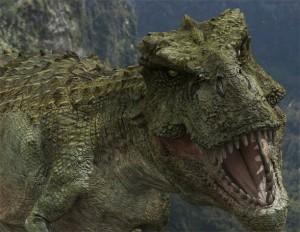 Tarbozaur (Tarbosaurus) - wizualizacja.
