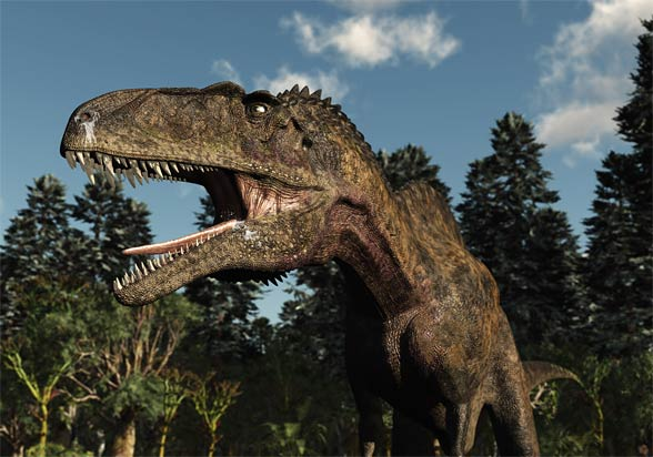 Dinoanimals Pl: Akrokantozaur (Acrocanthosaurus Atokensis)