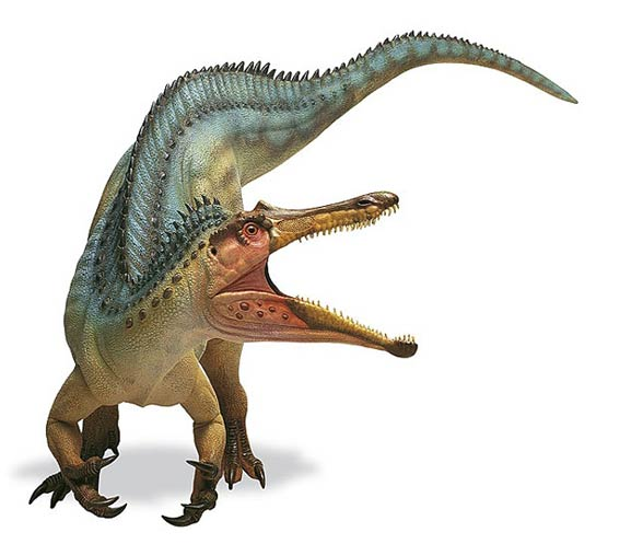 Barionyks (Baryonyx walkeri).