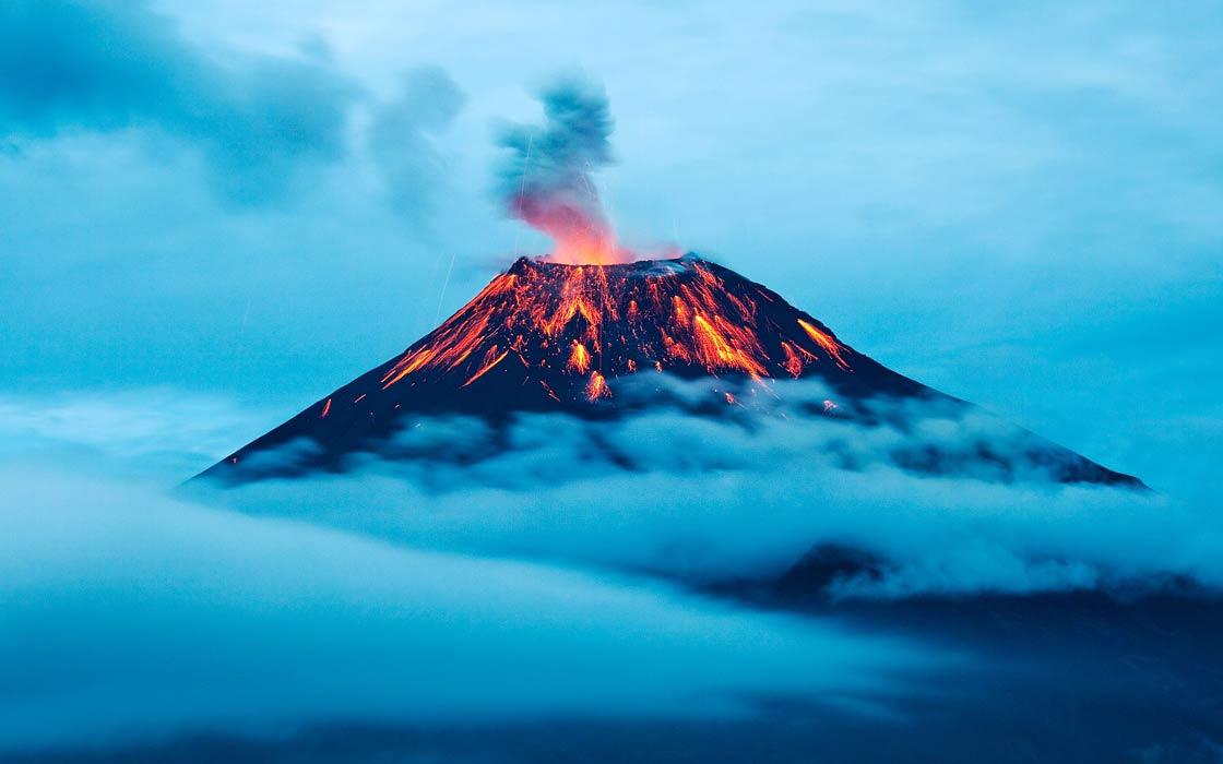 Photo of Wybuch wulkanu Tambora